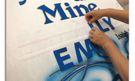 Personalize a Church Baptism Banner